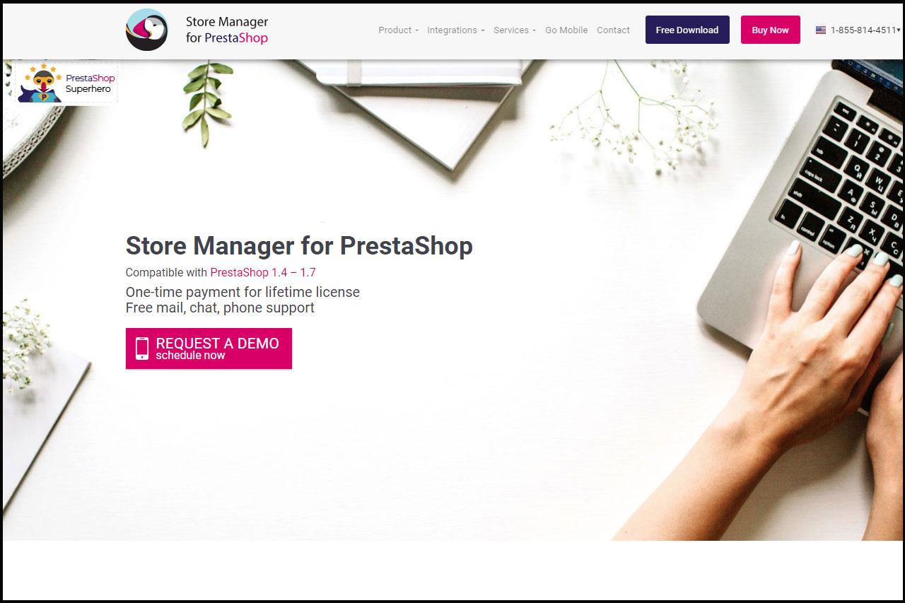PrestaShop Store Manager программа для Интернет-магазинов